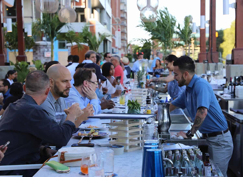 Ouzo Beach Evening Bar
